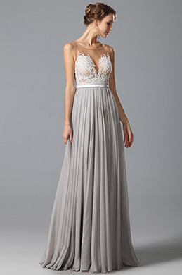 eDressit A Line Sleeveless Lace Applique Evening Dress (00150908)