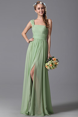 eDressit One Shoulder Slit Bridesmaid Dress Evening Dress (07150304)