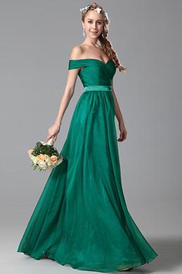 eDressit Off-Schulter Brautjungferkleid Abendkleid (07150504)
