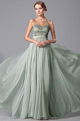 Bezaubend Ärmellos Perlen Ballkleider Abendkleider (00151204)