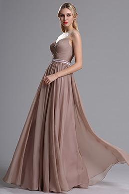 eDressit Robe de Demoiselle d'Honneur Sans Manche Brun Rosé(07160446)