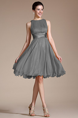 Вечернее Коктейльное Короткое Платье (07156608)