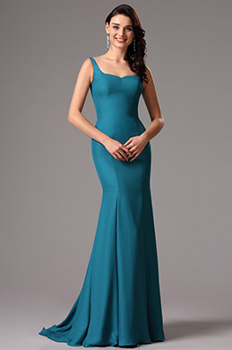 eDressit Blau Ärmellos Maxi Prom Abendkleid(00162305)