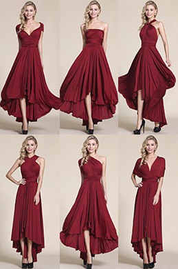 eDressit Convertible High Low Bridesmaid Dress Prom Dress (07154617)