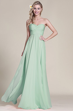 Вечернее Платье для Подружек Невесты без Бретелек (07153304)