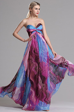 eDressit Sweetheart Printed A Line Prom Evening Dress (X07153868)
