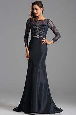 eDressit Robe de soirée sirène sexy  dentelle bleu marin (X02152905)
