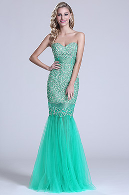 Gorgeous Strapless Sweetheart Beaded Prom Dress (C36150104)