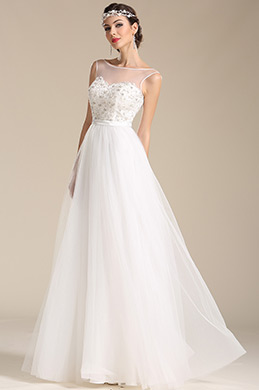 eDressit Sleeveless Sweetheart Wedding Dress Reception Dress (01151507)