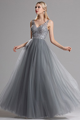eDressit Plunging V Neck Lace Prom Evening Dress (02162908)