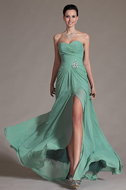 2014 New Charming Sweetheart Neckline Evening Dress Prom Gown