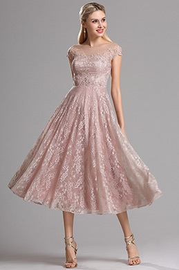 c4e30c53c7 eDressit Rosy Brown Illusion Neckline Lace Prom Cocktail Dress (04161746)