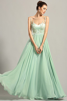 eDressit A Line Sleeveless Embroidery Bodice Prom Dress (00153804)