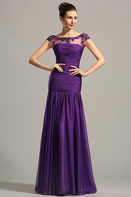 eDressit robe de soirée longue fluide violette décolleté dos(02154606)