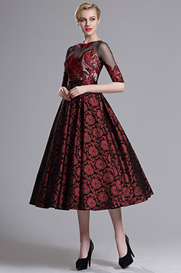 eDressit Vintage Half Sleeves Prom Cocktail Dress (04162017)