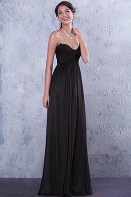 Плиссированное Вечернее Платье Декольте в Форме Сердечка(07156200)