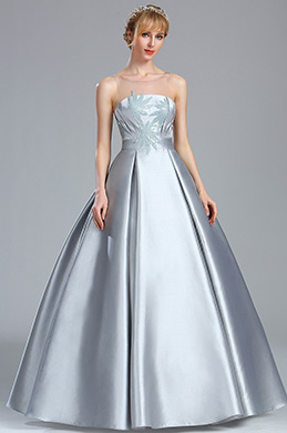 eDressit Grey Sleeveless Sequin Lace Prom Dress (02170408)