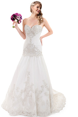 eDressit Sweetheart Lace Mermaid Wedding Dress (F09045766)
