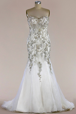 eDressit Beaded Sweetheart Mermaid Wedding Dress (F04014617)