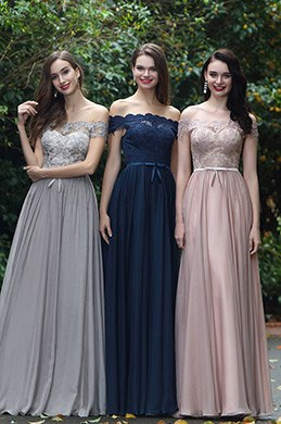 eDressit Navy Blue Off Shoulder Lace Formal Dress (02171905)