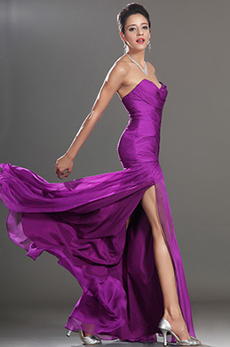 eDressit High Split Strapless Evening Dress (07157412)