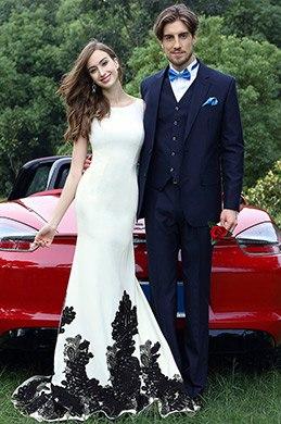 eDressit Elegant Meerjungfrau Linie Formell Designer Kleid (02171507)