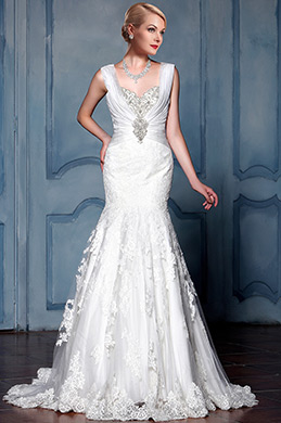 eDressit Sweetheart Lace Mermaid Bridal Gown (F09013612)