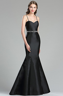 eDressit Gorgeous Black Mikado Formal Evening Gown (36175400)