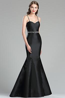 eDressit Gorgeous Black Mikado Formal Evening Gown (36175400)