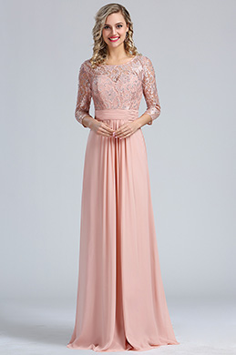 eDressit Blush A-line Overlace Prom Evening Dress (36173246)