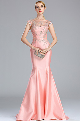 eDressit Pink Sparkly Lace Beaded Flower Girl Prom Dress (02173301)