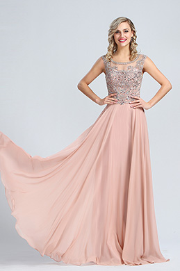 eDressit Elegant Beaded A-line Formal Evening Dress (36173146)