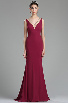 eDressit Rosy Red Sweetheart Long Maternity Evening Gown (00174412)