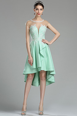 eDressit Cute Green Lace Appliques Short Prom Dress (04180204)
