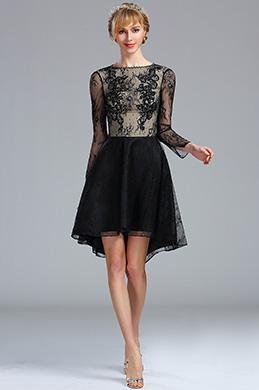 eDressit Robe de Soirée Overlace Noire Sexy Pas Cher (04173500)