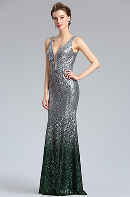 704c452259 eDressit Elegant Deep V-Cut Green-silver Sequins Party Dress (02183004)