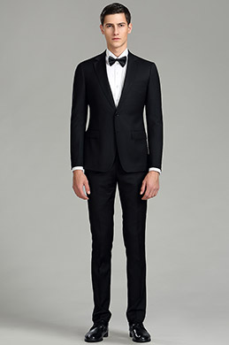 eDressit Plain Black Custom Men Suits Business Suits (15180500)