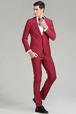 Burgundy Custom eDressit Men Suits Tuxedo (15181017)