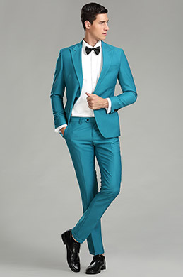 eDressit Custom Turquiose Men Suits Tuxedo (15180105)
