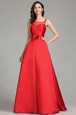 EDressit Cute Red Junior Boutique Ball Gown Prom Dress 02181102