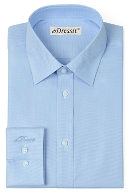 eDressit Custom Blue Dress Formal Shirt (29180305)
