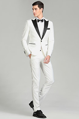 eDressit White&Black Custom Men Suits Party Tuxedo (15180707)