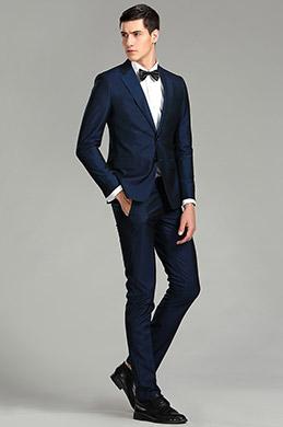eDressit Navy Blue Custom Men Suits Classic Suits (15180605)