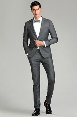 Tailor Made eDressit Grey Men Suits Business Suit (15182108)