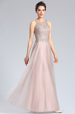 eDressit Halter Neck Embroidery Bodice Prom Dress Formal Gown (36182446)