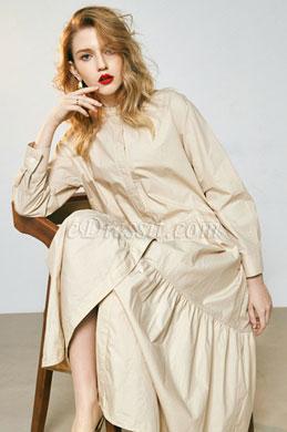 eDressit Women Long Sleeves Shirt Dress Day Dress (30190414)