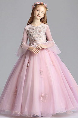 eDressit Round Neckline Children Wedding Flower Girl Dress (27201901)
