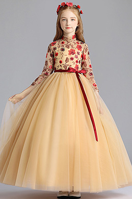 eDressit Handmande Flora Children Wedding Flower Girl Dress (27196424)