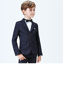 eDressit Dark Blue Boys Suits Children Wedding Tuexdo (16190105)