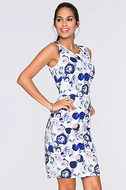 eDressit Simple Printed Vest Skirt Summer Dress (35195268)